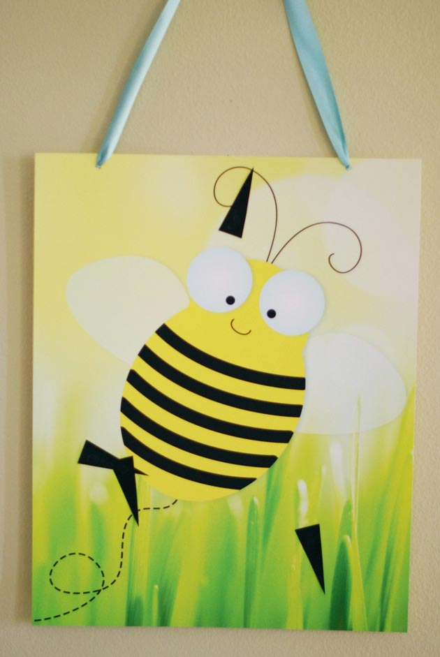 pin the stinger on the bee