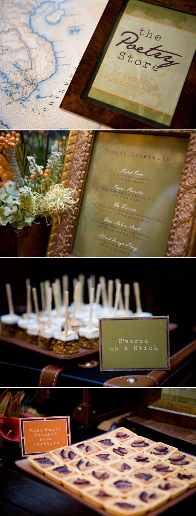 Erin and Tyler Fall Wedding Signage